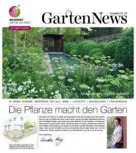 Gartennews Frühjahr 2017
